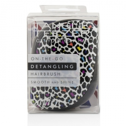 Compact Styler On-The-Go Detangling Hair Brush - # Punk Leopard