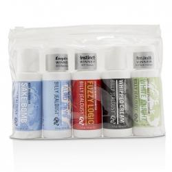 Value Travel Kit: Facial Cleanser 60ml + Shave Lather 60ml + Shampoo 60ml + Body Scrub 60ml + Body Moisturizer 60ml