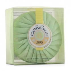 Green Tea (The Vert) Perfumed Soap (With Case)