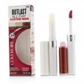 Outlast All Day (Увлажняющее Верхнее Покрытие + Цветное Покрытие) - # 840 Signature Scarlet