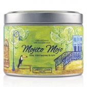 Tin Can 100% Beeswax Candle with Wooden Wick - Mojito Mojo