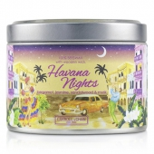 Tin Can 100% Beeswax Candle with Wooden Wick - Havana Nights