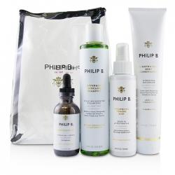 Four Step Hair & Scalp Treatment Set - # Paraben-Free Formula (All Hair Types)