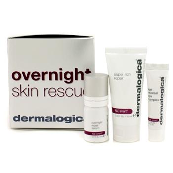 Набор ночных омолаживающих средств для кожи Age Smart : восстанавливающее средство Super Rich Repair + ночная восстанавливающая сыворотка + комплекс для глаз 3шт.
