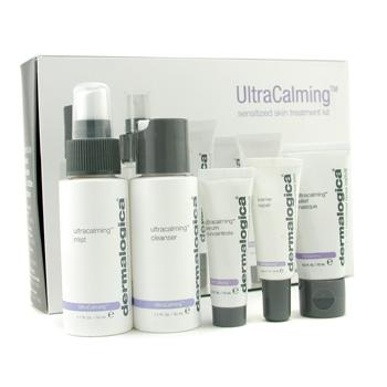 UltraCalming Sensitized Skin Treatment Kit: Cleanser + Mist + Masque + Concentrate + Barrier Repair