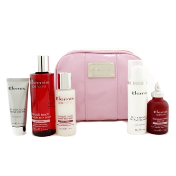 Набор Little Superstars Holiday: крем Marine + клинзер + масло для тела + средство для мытья тела + эликсир для ванн + сумка 5шт.+1bag