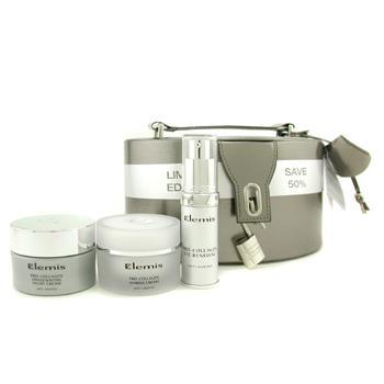 Набор антивозрастных средств для лица и глаз: морской крем + ночной крем + обновляющее средство для глаз + коробка 3шт.+1box