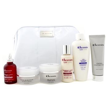 Набор Superstars Holiday: энзимный пилинг + капсулы Cellular + крем Marine + крем для душа + молочко для ванн + масло для тела + сумка 6шт.+1bag