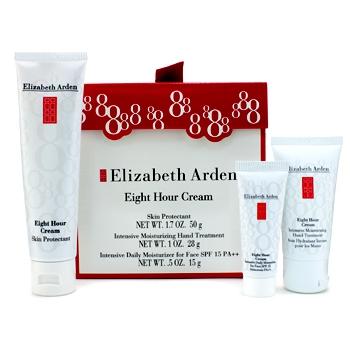 Набор кремов Eight Hour: защита кожи рук + лечение рук + ежедневный увлажняющий 3шт.