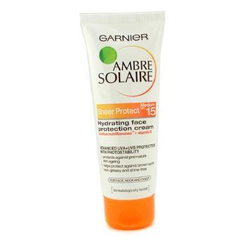 Увлажняющий крем для защиты солнца с фактором SPF15 Ambre Solaire 75мл./2.5oz