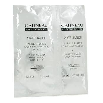 Mateliance очищающая восстанавливающая баланс маска ( для жирной кожи )
