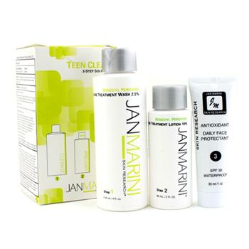 Набор Teen Clean 10%: средство для мытья кожи 119мл/4унц + средство против угревой сыпи 60мл/2унц + защитное средство 30мл/1унц 3шт.