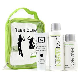 Набор Teen Clean 5%: средство для мытья лица 119мл/4унц + лосьон против угревой сыпи 60мл/2унц+ защитное средство 30мл/1унц 3шт.