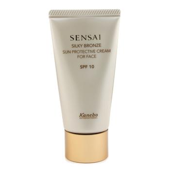 Защитный крем для лица Sensai Silky Bronze Sun Protective SPF 10 50мл./1.7oz