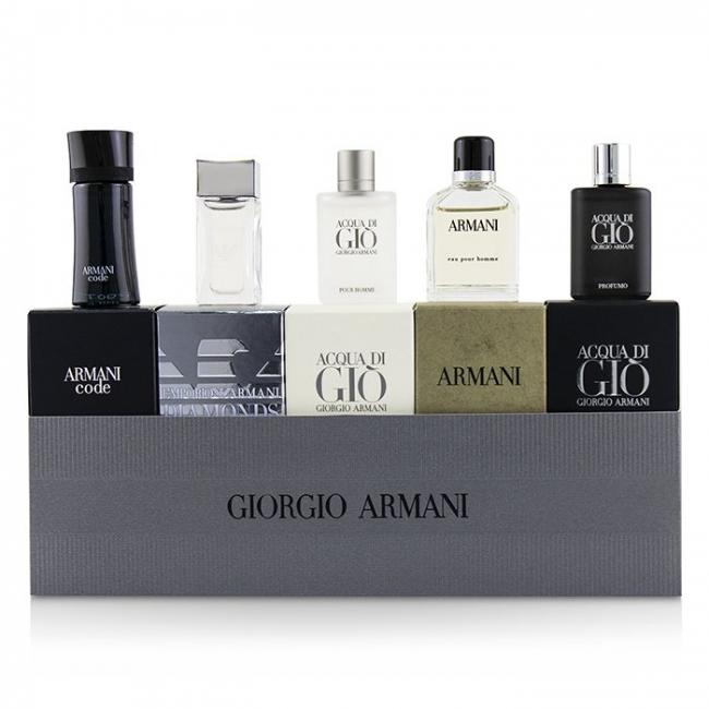 Men Miniature Coffret Acqua Di Gio Code Acqua Di Gio Profumo Eau