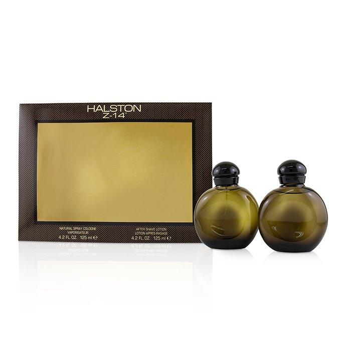 Halston Z-14 Coffret: Cologne Spray 125ml/4 2oz + After Shave Lotion  125ml/4 2oz