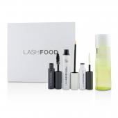 LashFood Lash Transformation System: (1x Eyelash Enhancer, 1x Lash Primer, 1x Mascara, 1x Eye Makeup Remover)