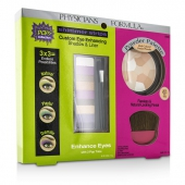 Makeup Set 8661: 1x Shimmer Strips Eye Enhancing Shadow, 1x Powder Palette, 1x Applicator