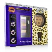 Makeup Set 8660: 1x Shimmer Strips Eye Enhancing Shadow, 1x Bontanical Bronzer, 1x Applicator