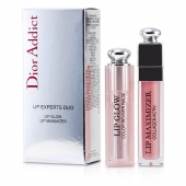 Dior Addict Lip Experts Duo (1x Lip Glow, 1x Lip Maximizer)