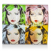 Andy Warhol Collection Debbie Harry Набор для Глаз и Щек (4х Тени для Век, 2х Румяна)