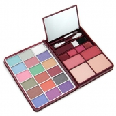 MakeUp Kit G0139 (18x Eyeshadow, 2x Blusher, 2x Pressed Powder, 4x Lipgloss)