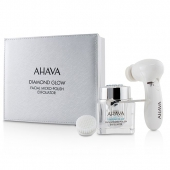 Diamond Glow Facial Micro-Polish Exfoliator (1x Micro-Exfoliating Cream 50ml, 1x Cleansing Device, 1x Brush Head)