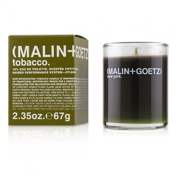 Scented Votive Candle - Tobacco