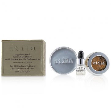 Magnificent Metals Foil Finish Eye Shadow With Mini Stay All Day Liquid Eye Primer