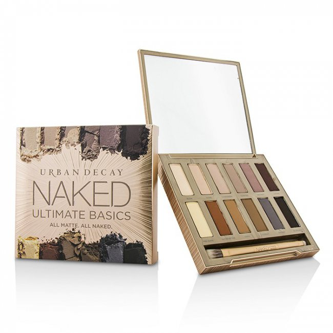 ac5c961b041 Urban Decay Naked Ultimate Basics Eyeshadow Palette: 12x Eyeshadow, 1x  Doubled Ended Blending and