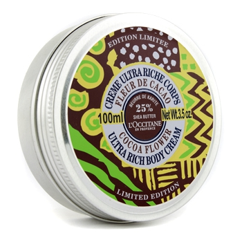 Насыщенный крем для тела Shea Butter - Cocoa Flower (ограниченный выпуск) 100мл./3.5oz