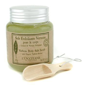 Соляной скраб для тела с экстрактом вербены Verbena Harvest  400г./14.1oz