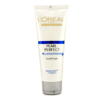 Dermo-Expertise Pearl Perfect Re-Lighting Whitening Facial Foam
