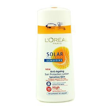 Антивозрастной солнцезащитный лосьон с фактором SPF30 Solar Expertise Sensitive 150мл./5oz