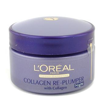 Ночной разглаживающий коллагеновый крем против морщин Dermo-Expertise Wrinkle De-Crease 50мл./1.7oz