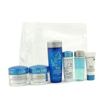 Blanc Expert Travel Set: Bi Facil + Galateis Douceur + Beauty Lotion + Cream + Night Cream + Eye Serum