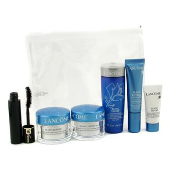 Blanc Expert Travel Set: Cream + Night Cream + Eye Serum + Spot Eraser + Mascara