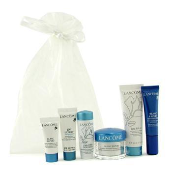 Blanc Expert Travel Set: Cream + Spot Eraser + Eye Serum + Gel Eclat + Galateis Douceur + UV Expert