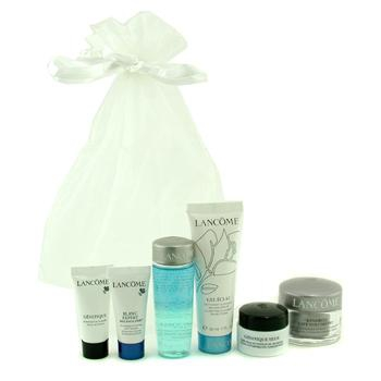 Travel Set: Bi Facil + Gel Eclat + Cream + Genifique Concentrate + Eye Concentrate + Spot Eraser
