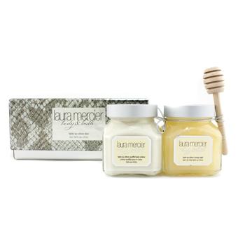 Набор Tarte au Citron: крем для тела + мед для Ванн 2шт.