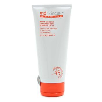 Water Resistant Sunscreen with Vitamin C SPF 15