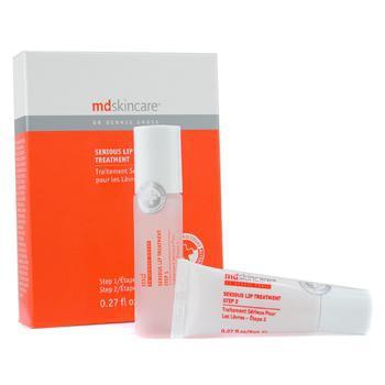 Лечебный комплекс для кожи губ  Serious Lip Treatment: Шаг 1 8мл + Шаг 2 8мл 2шт.