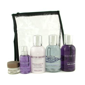 Frequent Traveller: Cempaka Shower Gel + Yuan Zhi Shower Gel + Body Cream + Mist + Soother + Bag