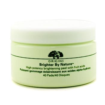 Осветляющий пилинг с фруктовой кислотой Brighter By Nature High-Potency  40pads