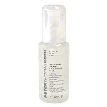 Гель для проблемной кожи с бутилоксианизолом и альфа-оксикислотами AHA/BHA Acne Clearing Gel 57мл./2oz