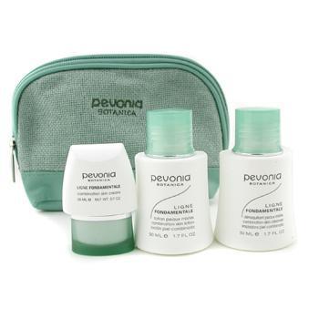 Набор средств для ухода за смешанной кожей Your Skincare Solution очищающее средство 50мл + лосьон 50мл + крем 20мл + косметичка 3шт.+1bag