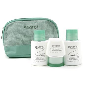 Набор средств для ухода за чувствительной кожей Your Skincare Solution Sensitive: очищающее средство 50мл + лосьон 50мл + крем 20мл + косметичка 3╔С+1ЁU╓l