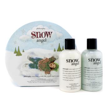 Набор Snow Angel: гель для душа 240мл + лосьон для тела 240мл 2шт.