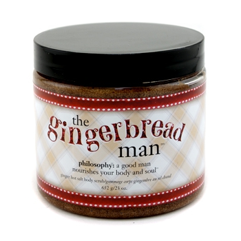 Скраб для тела The Gingerbread Man Ginger Hot Salt Body Scrub 652г./23oz