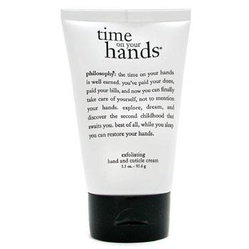 Отшелушивающий крем для рук и кутикул Time on Your Hands 100г./3.3oz
